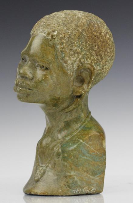 T m gidi verdite stone shona sculpture zimbabwe