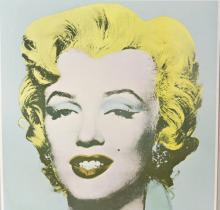 Andy Warhol Marilyn Monroe Tate Gallery Poster VTG