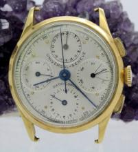 Universal Geneve 18k Dato-Compax Cal 285 Watch