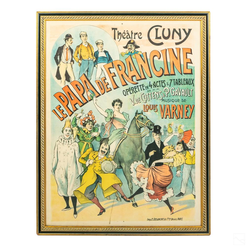 French Theater Cluny Poster after Alfred Choubrac