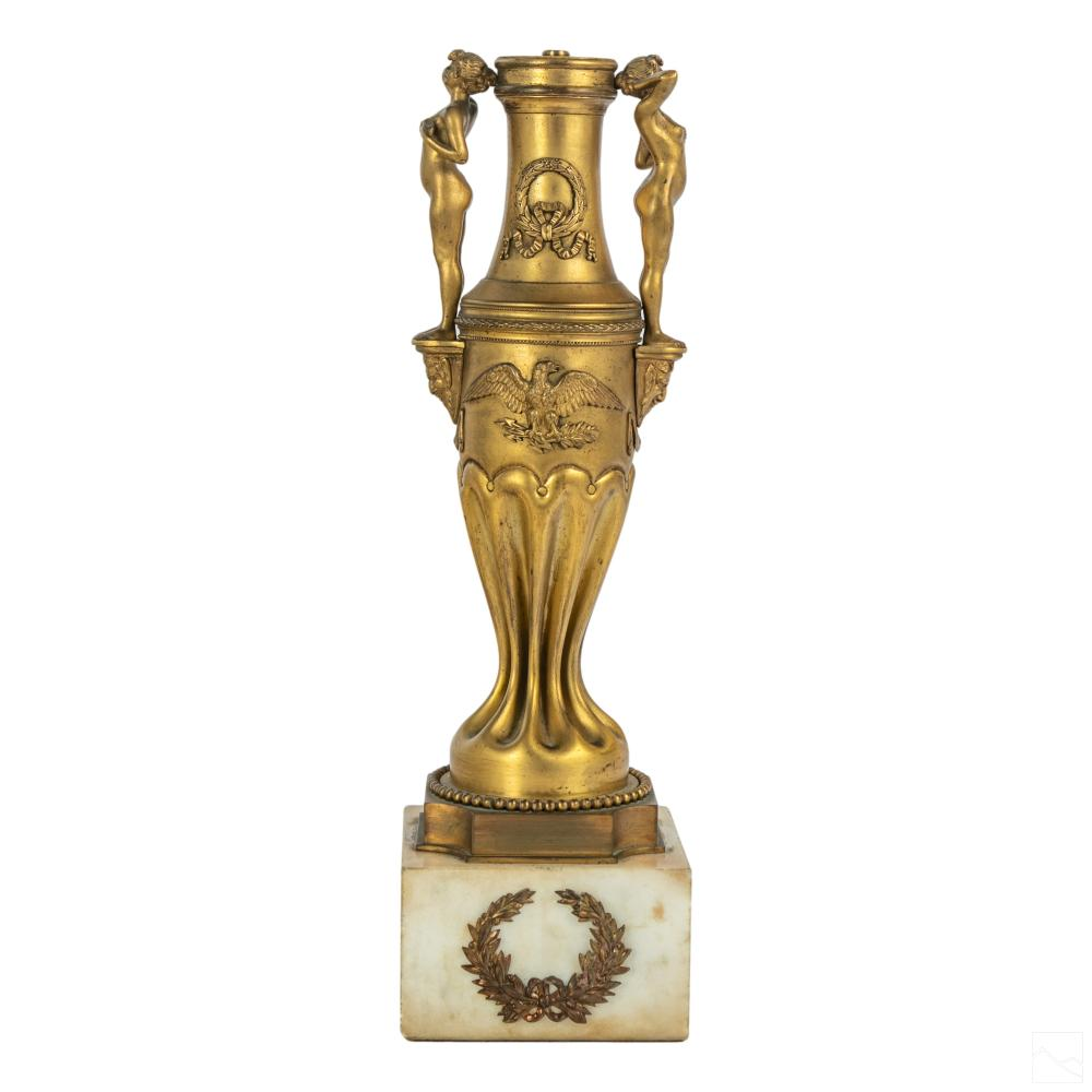 American Military Mortar Shell Trench Art Trophy