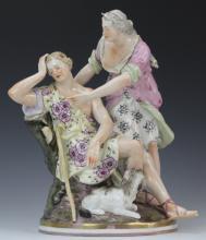 Antique KPM German Porcelain 9