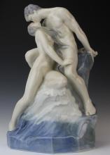 Royal Copenhagen Kissing Nude 18