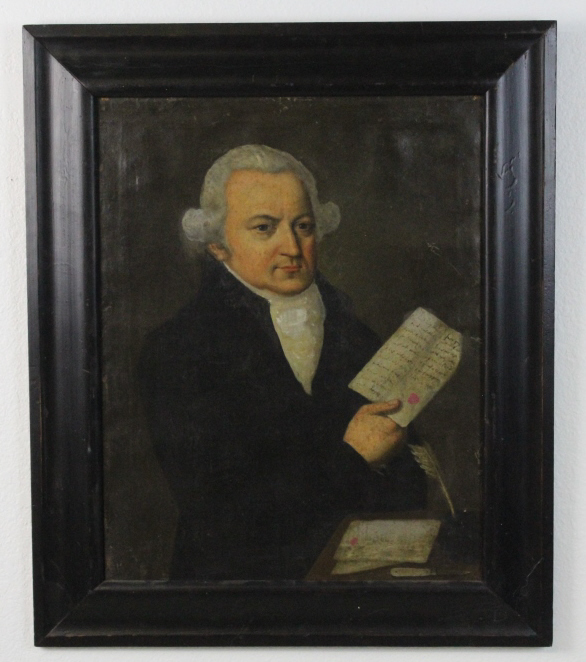Attributed to Francisco Jose de Goya Portrait of Gentleman Oil Painting