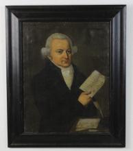 Attributed to Francisco Jose de Goya Portrait of Gentleman Oil Painting