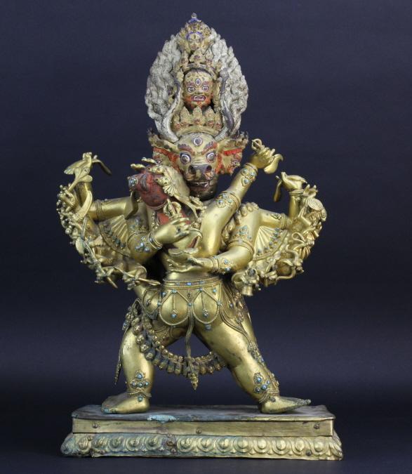 19th Century Vajrabhairava 21