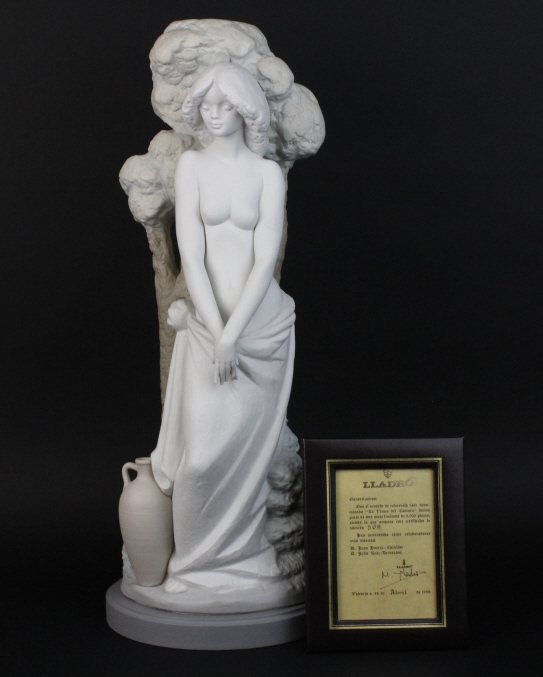 Retired LLADRO Female Nude Limited Edition 24