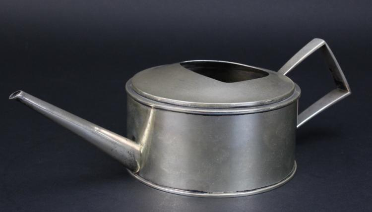 Rare SIGNED Potter & Mellen Sterling Silver Flower Watering Can 680g