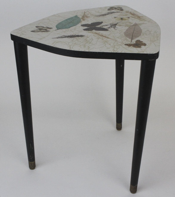 Signed BILTMORE Miami Butterfly Table from Morris Lapidus Estate
