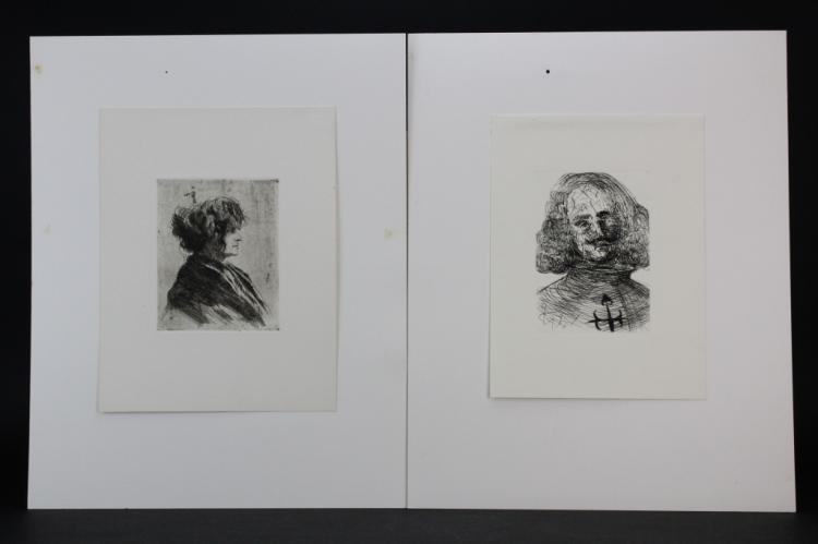 17 Pc Great Masters Print Etching Portfolio Vol 3 from the Bass Museum Collection