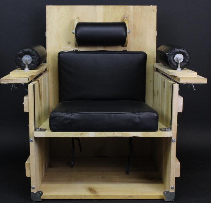 Heinz Julen Cube Chair 1998 Contemporary Sculpture from The Bass Museum