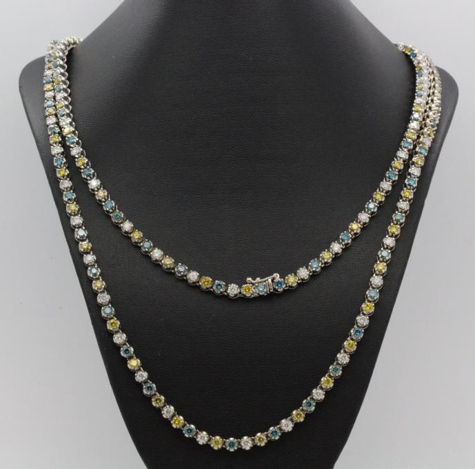 14K Gold 37 Carat Fancy Color Diamond 46