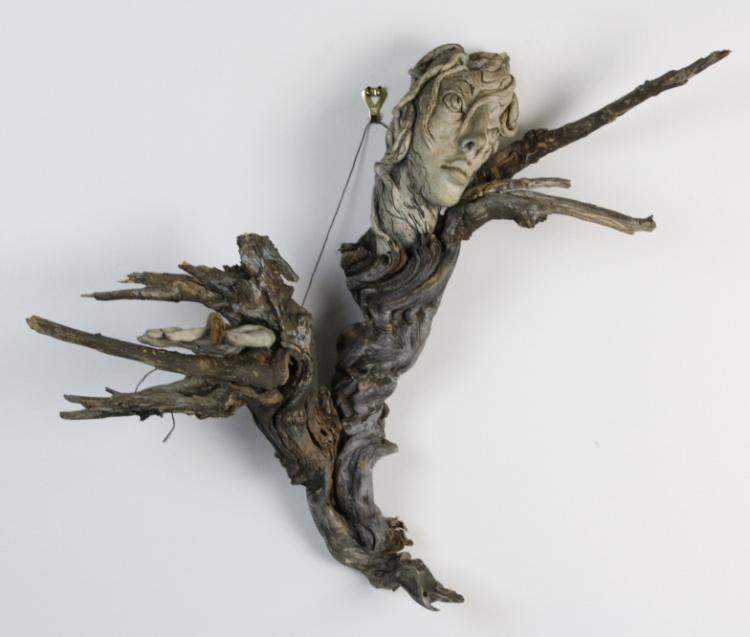 John Keller Contemporary Madonna Roots Art Sculpture from The Bass Museum