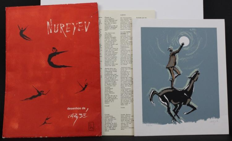 Hector Bernabo CARYBE Nureyev & L/E Horse Prints from The Bass Museum