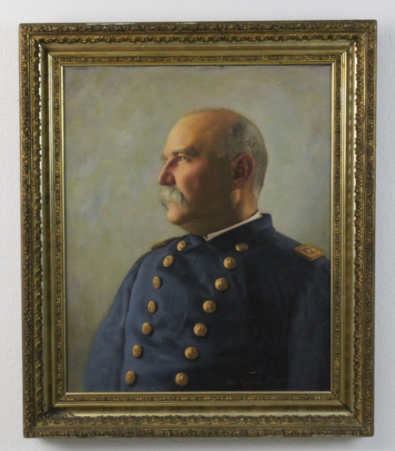 Van Rensselaer Portrait Union General Oil Painting