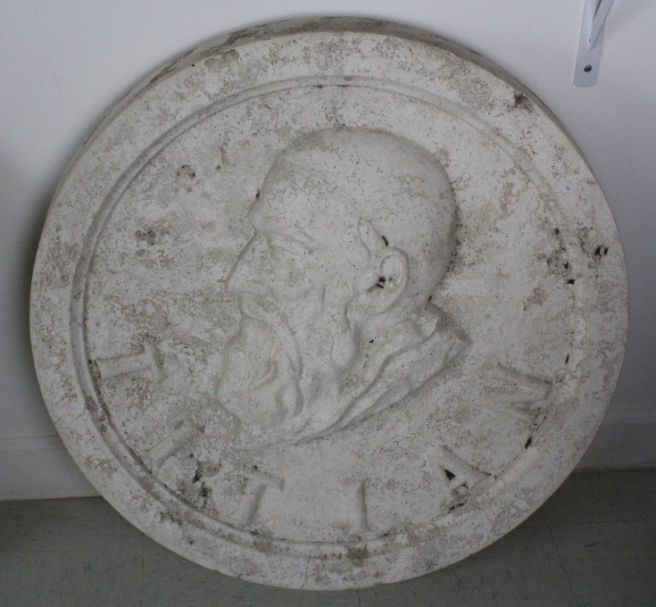 Titian Bas Relief Architectural Medallion Miami from The Bass Museum