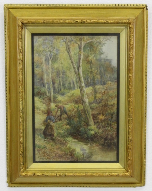 Joseph Kirkpatrick (1872-1930) Watercolor Painting