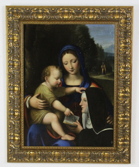 After Bernardino Luini Madonna Child Oil Painting