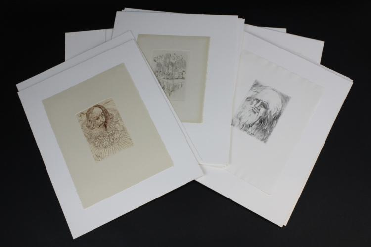 Complete 3 Volume Set Great Master Print Etching from Bass Museum Collection