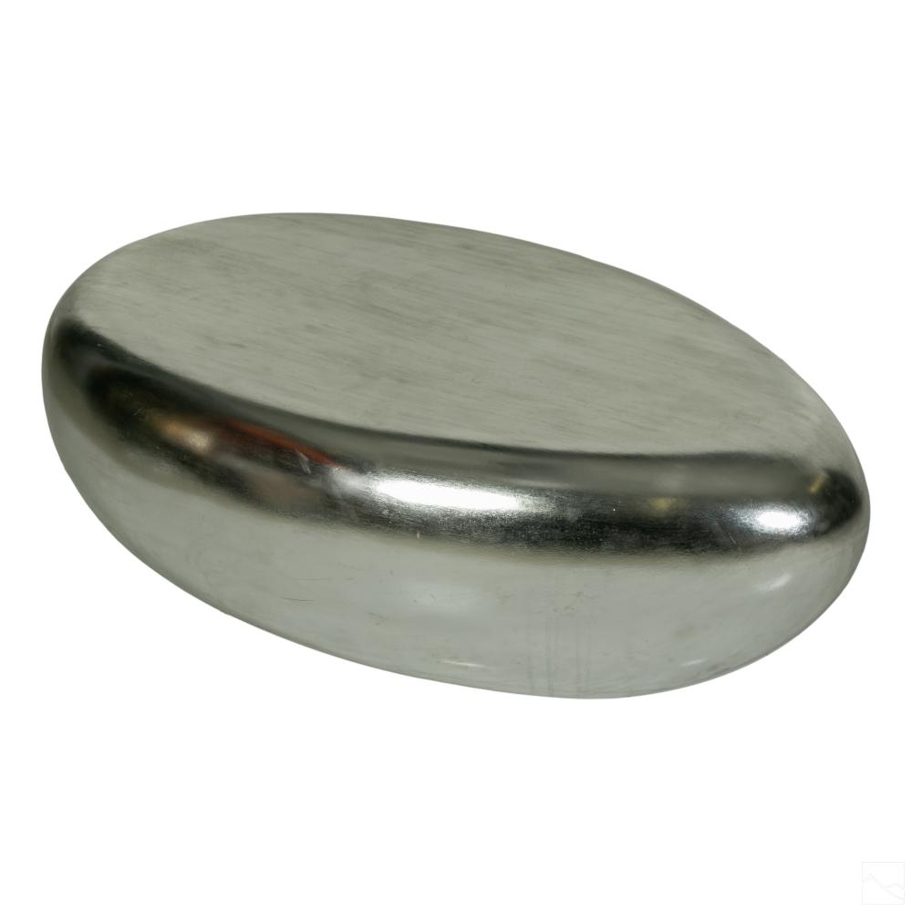 Modern Silver River Stone Cocktail Coffee Table