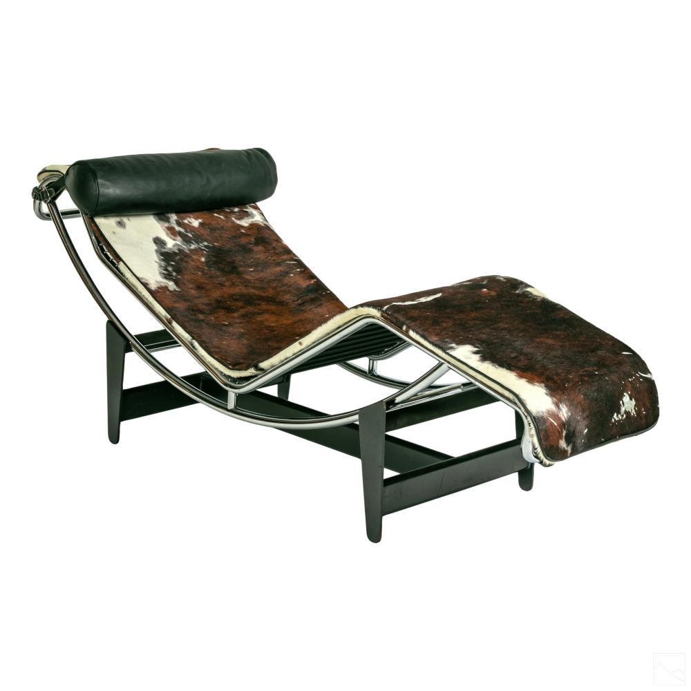 Le Corbusier (1887-1965) LC4 Chaise Lounge Chair