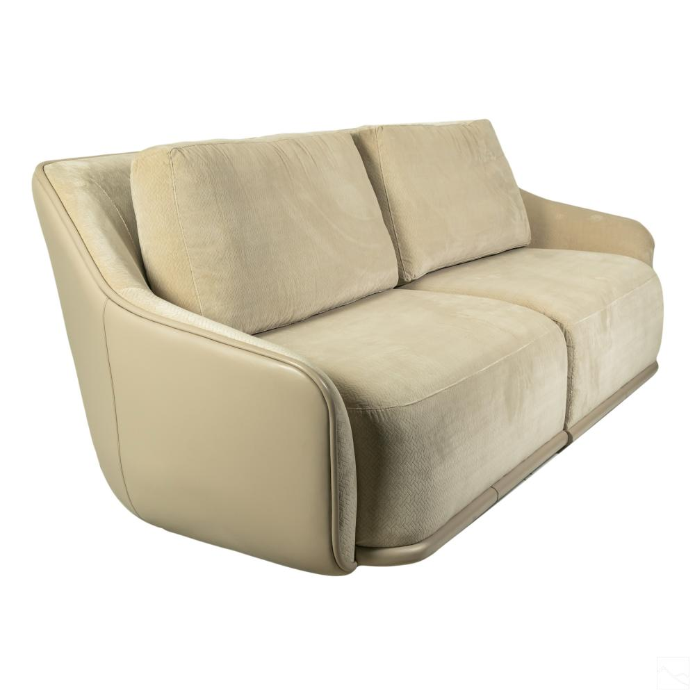 Hector Landgrave Modern Design Loveseat Sofa Couch