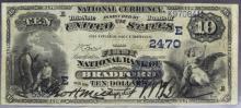 1882 Bradford NB PA $10 Date Back Fr. 545 CH 2470 Bill Currency Note