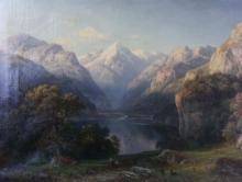 Eduard Friedrich Pape 1817-1905 German Painting