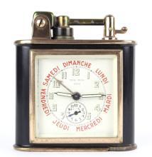 Lancel Rose Gold Lacquer Day Alarm Clock Lighter