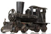 19th Century Steam Locomotive Train Sculpture 21