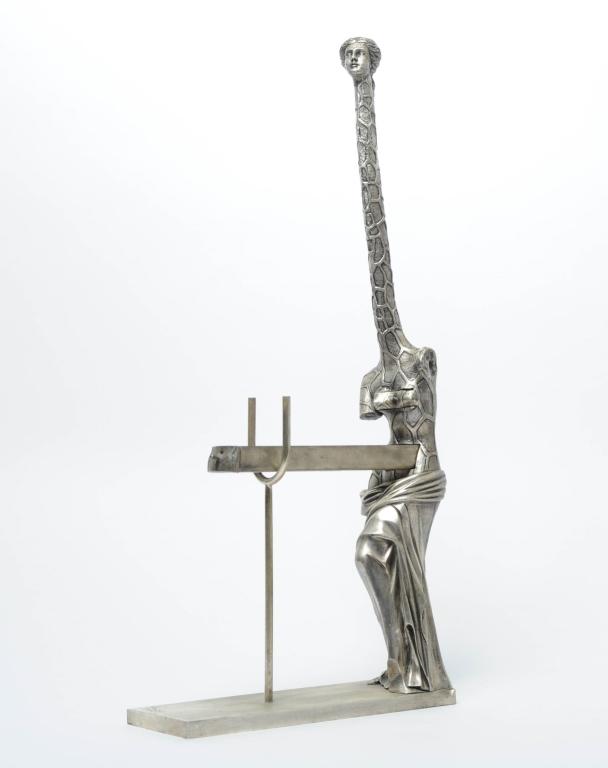 Salvador Dali Venus A La Girafe Bronze Sculpture