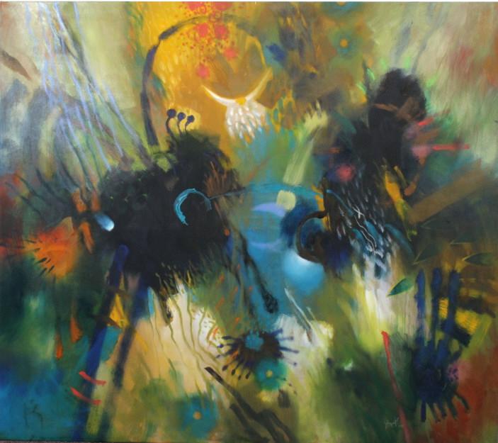 Carlos Jacanamijoy Latin American Modern Painting