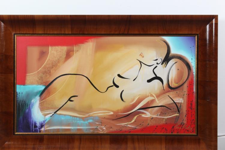 Elaine Murphy Expressionist Female Nude Painting