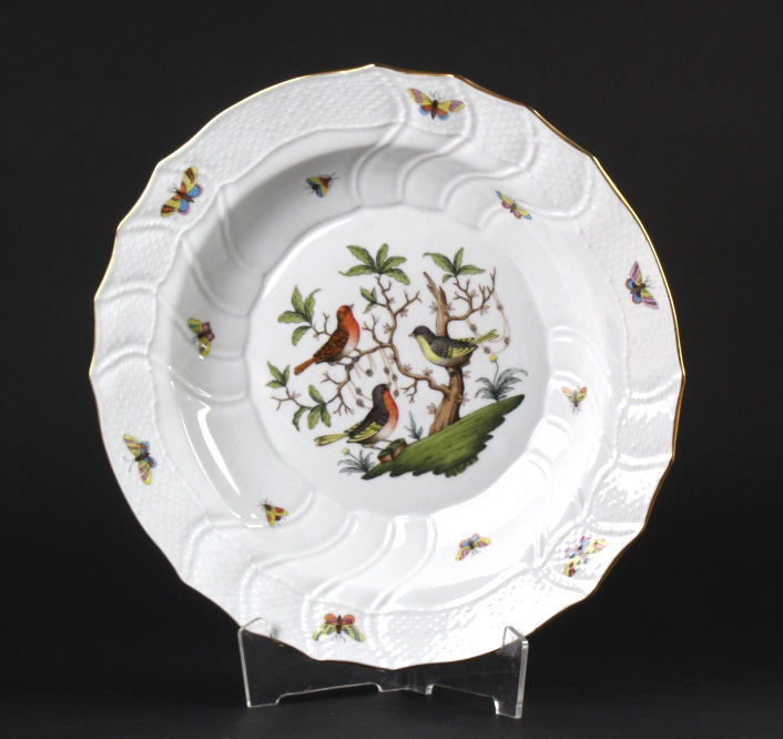 Herend Rothschild Porcelain 12 1/4