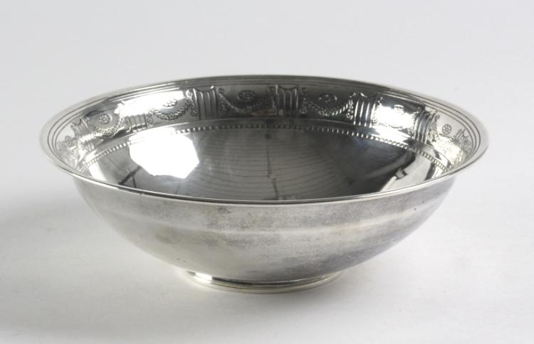 Tiffany & Co Sterling Silver Footed 8