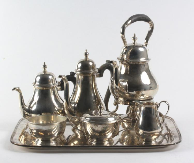 7pc Tiffany & Co Sterling Silver Tea Beverage SET