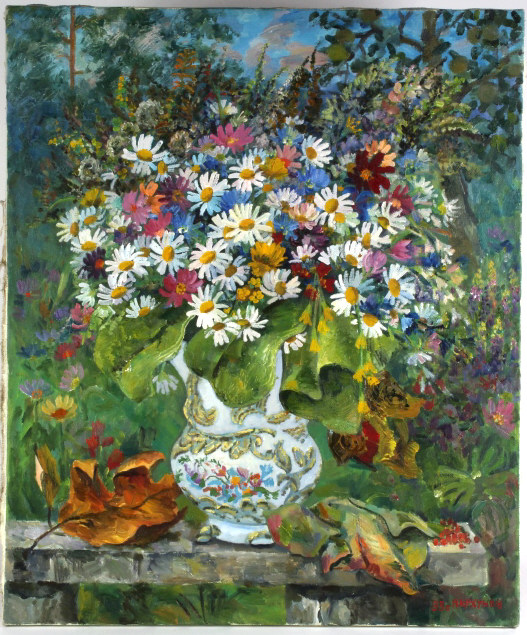 Boris Parkhunov Russian Oil Painting BASS MUSEUM