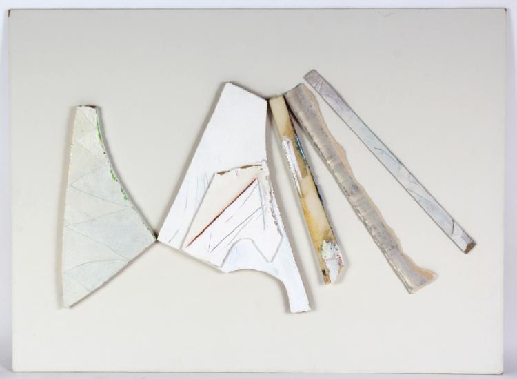 Allan D Hacklin Oil On Mixed Media Art BASS MUSEUM