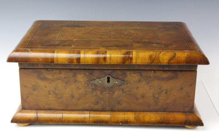 Dunhill Burl Wood Cigar Tobacco Humidor Case Box