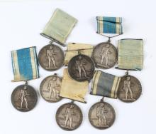 8 Stockholms Amatorforening Silver Olympic Medals