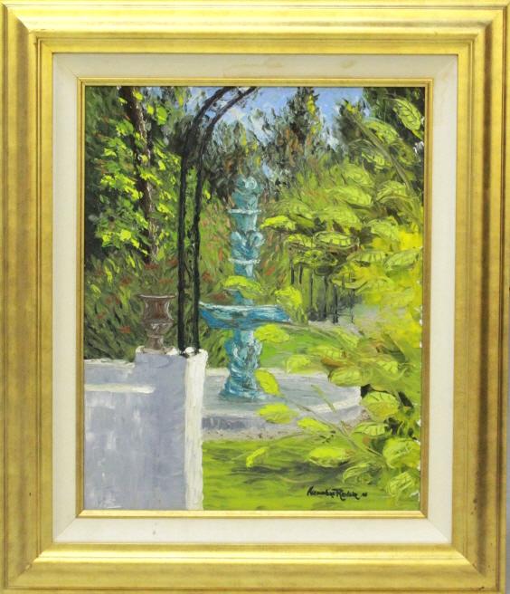 Alexandre Renoir Old Floresta Signed BASS MUSEUM