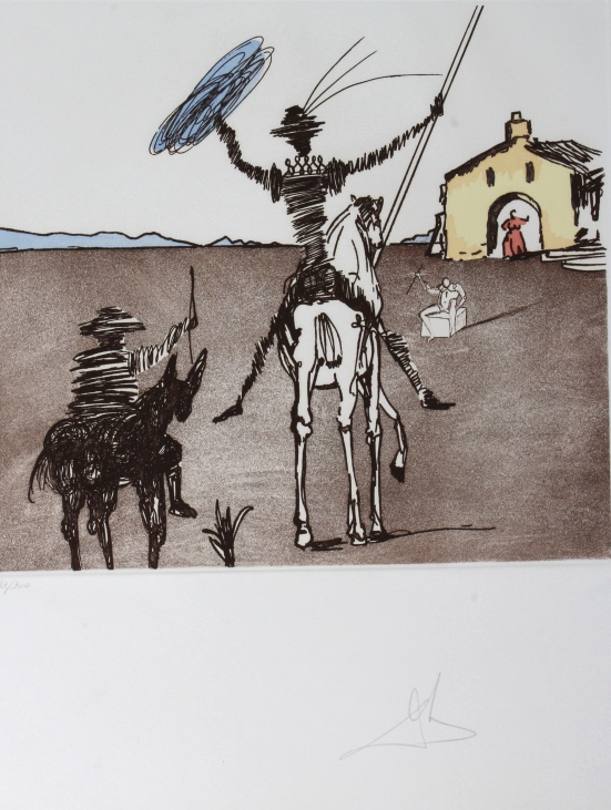 Salvador Dali IMPOSSIBLE DREAM LE Etching SIGNED