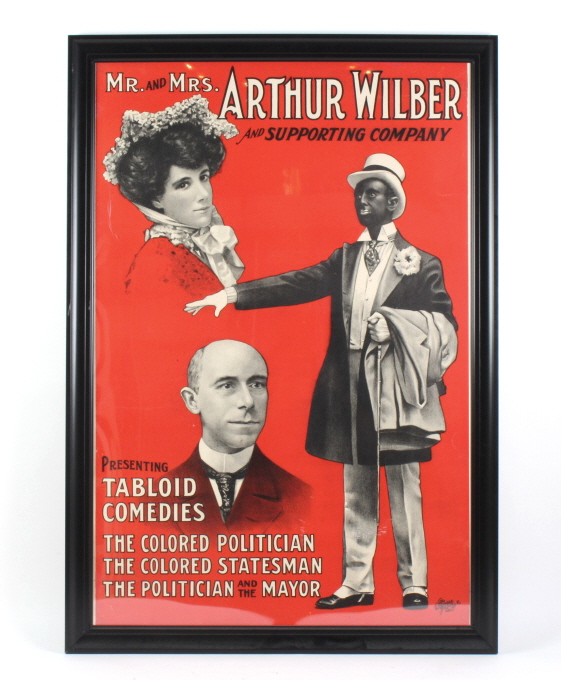 Mr and Mrs Arthur Wilber & Company Black Americana