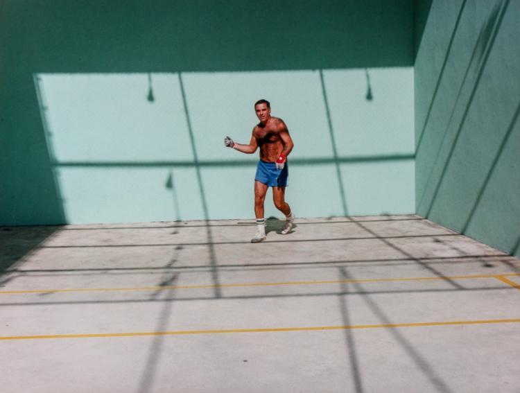 Jerome Liebling Photo Handball Players BASS MUSEUM