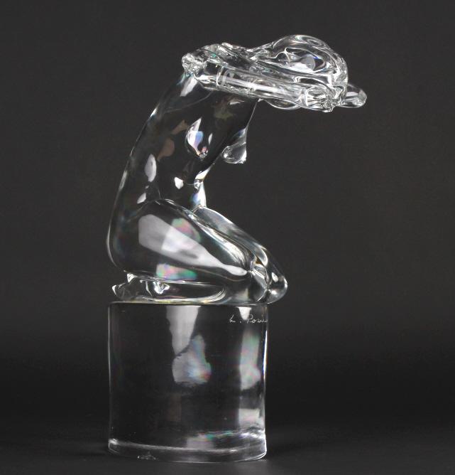 Loredano Rosin Murano Nude Art Glass 16