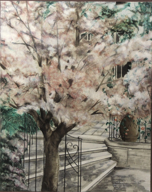 Susan Sahall Flowering Tree Limited Ed. Lithograph