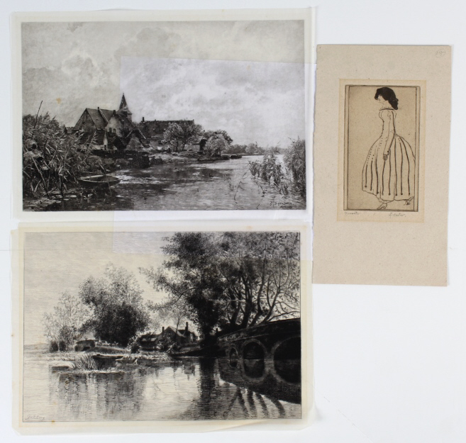Estate Collection of Antique Prints BASS MUSEUM