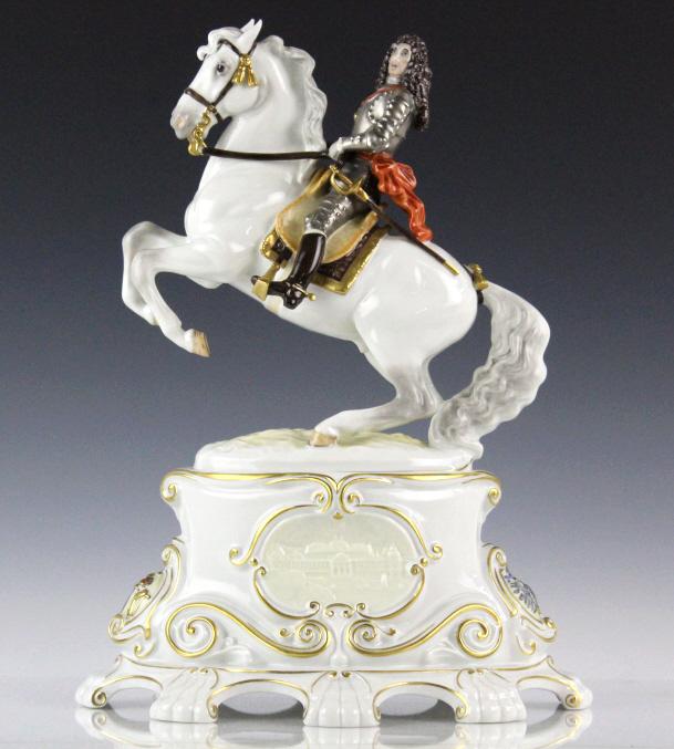 Royal Worcester Marlborough L/E Porcelain Figurine