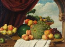 John Vanderlyn Jr Attributed Still Life Painting