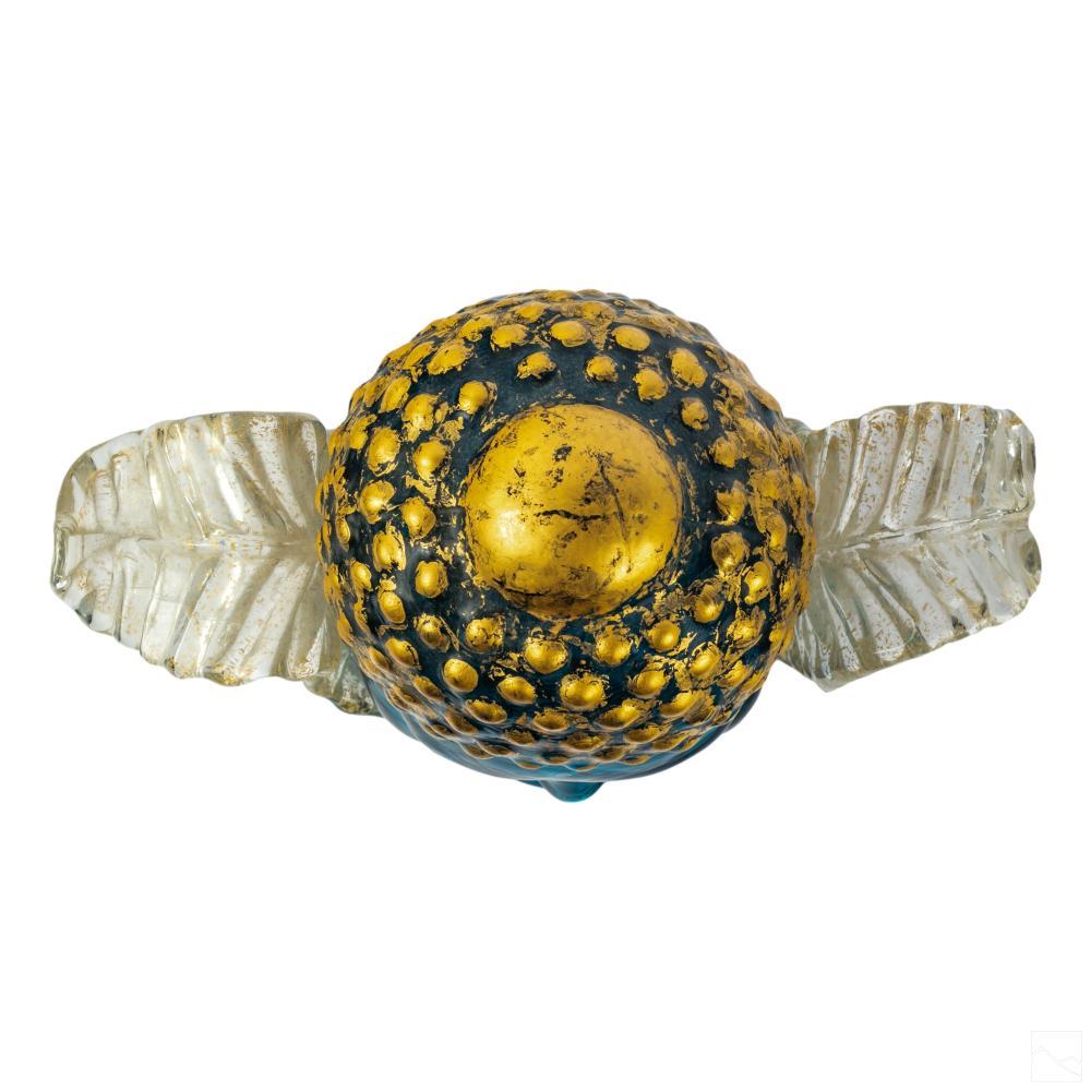 Stephen Rich Nelson (b.1956) Art Glass Buddha Head